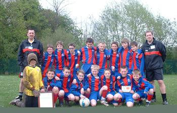 Upton FC Under 11 Champions 2008